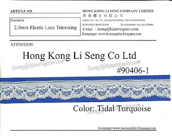 Elastic Lace Supplier - Hong Kong Li Seng Co Ltd