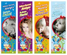 Señaladores para acompañar tu presente de Pascuas