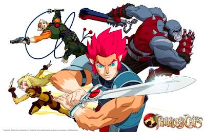 Thundercats Animated Series on Ochotv  Nueva Serie Animada De  Thundercats  A Finales De Este A  O
