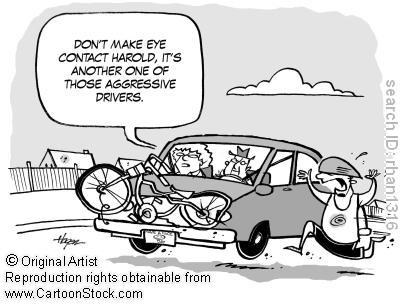 bad driver cartoons