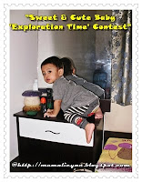 Sweet & cute baby exploration time contest