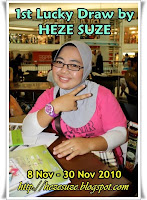 1st Lucky Draw by HEZE SUZE