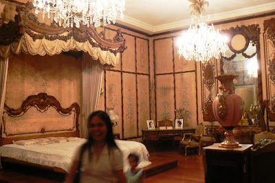 Imelda's room in the Romualdez Museum
