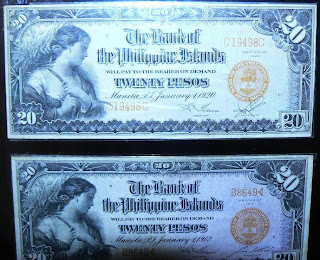 Sample bills in the Romualdez Museum collection