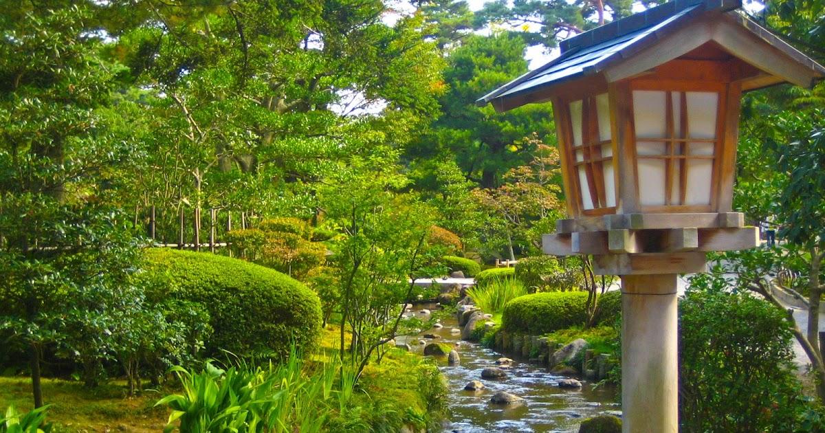Kerana dormilona viaje a japon kanazawa jard n kenrokuen for Jardin kenrokuen