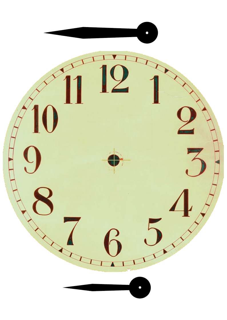 Plantillas para hacer relojes de pared - Relojes de pared ...