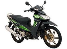 Motor Kawasaki ZX 130R