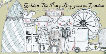 Golden The Pony Boy goes to London