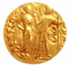 Golden coin from Maurya dynasty
