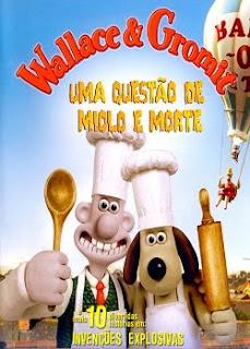 Wallace & Gromit Uma Questão de Miolo e Morte Dual Audio