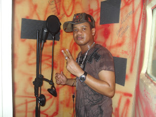 Chico In Dialtone Studio Recording Booth
