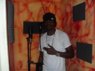 Singer J in Dialtone Studio Recording Booth