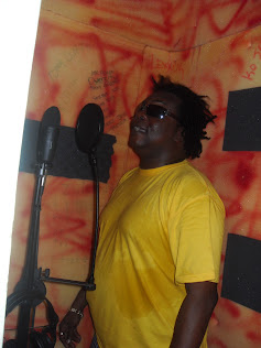 Pad Anthony in Dialtone Recording Booth
