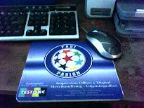 Mouse Pad con foto, escudo o imagen.