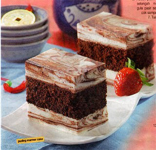 Bahan cake coklat :