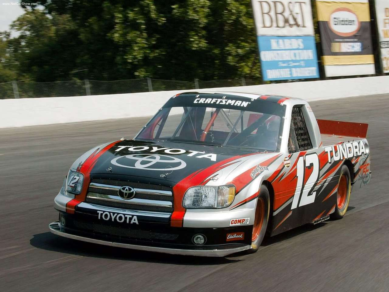 2004 Toyota Tundra NASCAR Craftsman Series Truck