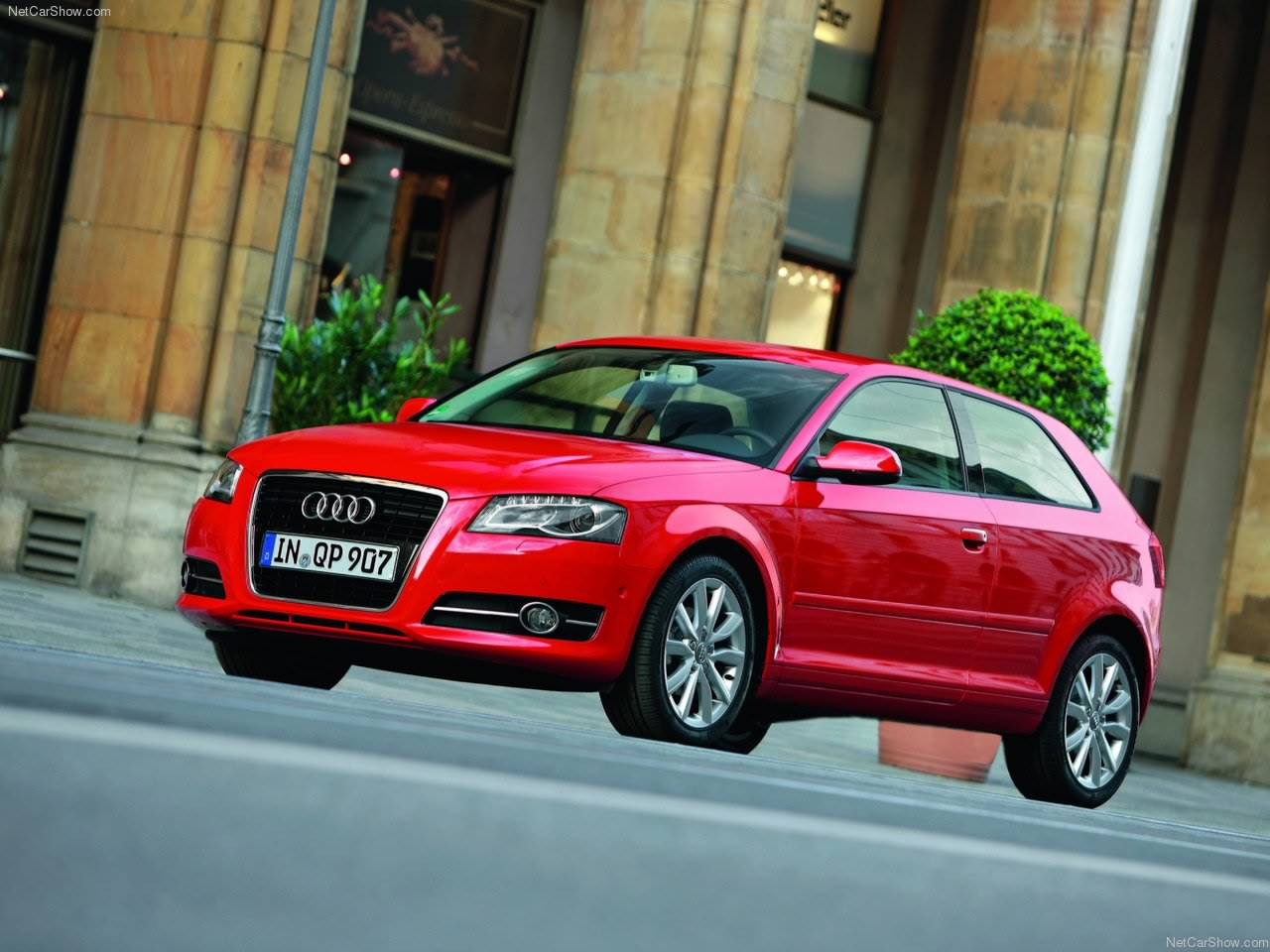 audi a3 wallpaper 1366x768 new hd wallon. Black Bedroom Furniture Sets. Home Design Ideas