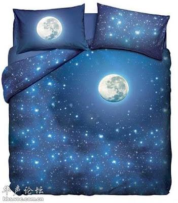 Sprei Tempat Tidur Dengan Motif Unik