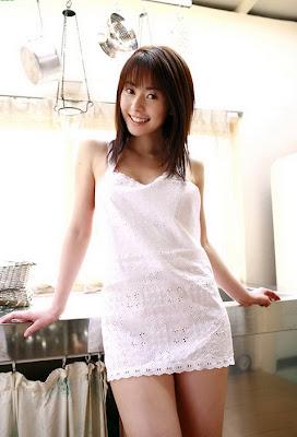 Foto Hot Gadis Japan Lagi Masak