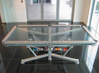 Meja Billiard Tembus Pandang