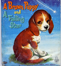 A BROWN PUPPY AND A FALLING STAR