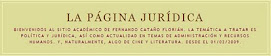 La Pgina Jurdica de Fernando Catao Florin