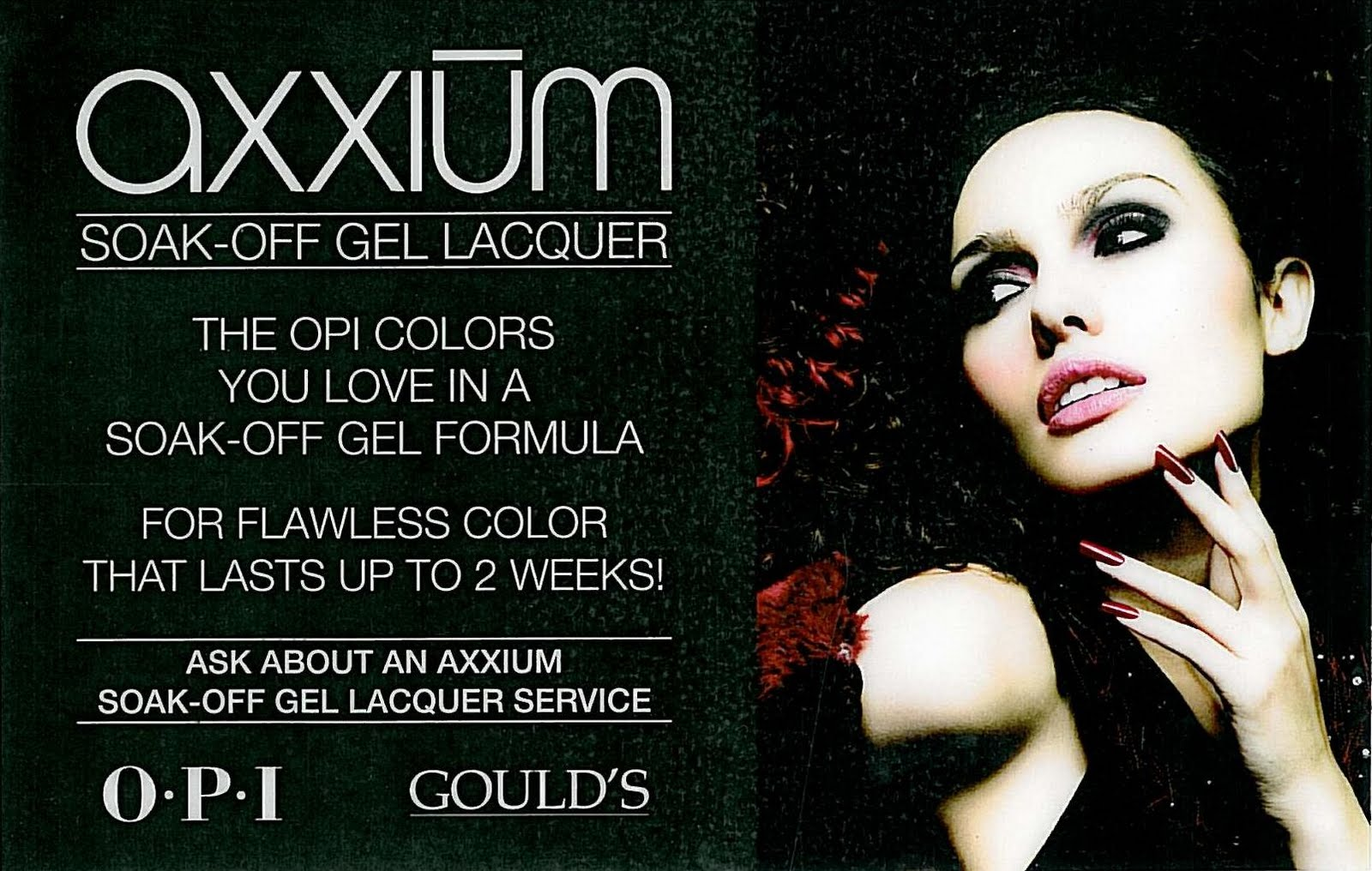 opi axxium gel system instructions