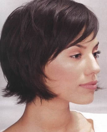 short easy hairstyles. short lack hairstyles