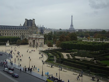 View from Louvre...Paris