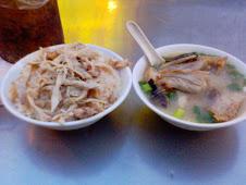 寧夏夜市郭魚味噌湯雞肉飯