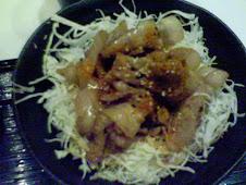 永康街Rice&cafe薑燒丼