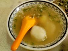 財哥福州麵乾麵類一律附加之蛋包魚丸湯
