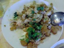 台北市汀州路肉粥e炸蝦