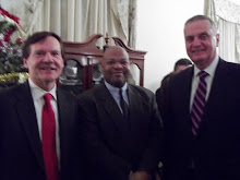 Former National Security Advisor James Jones, Honorable Senator Tim Hutchinson, & Dr. C. P. Gause