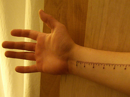 I'm not big on tattoos but here's one that might actually be useful.