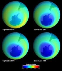 Kanchanjangha: Contribution of CFC in the ozone layer depletion