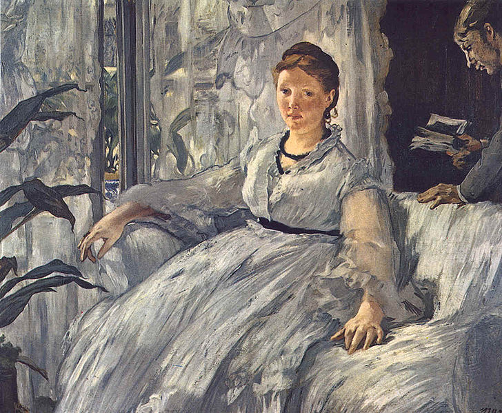 """manet s olympia essay example This essay is comparing paintings of reclining female nudes thru the history of art – ingres' """"la grande odalisque"""" and manet's """"olympia"""" a comparison."""