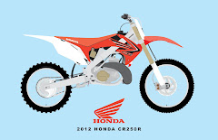 2012 HONDA CR250R