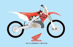 2012 HONDA CR250R