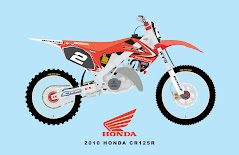 2010 RED BULL HONDA CR125R