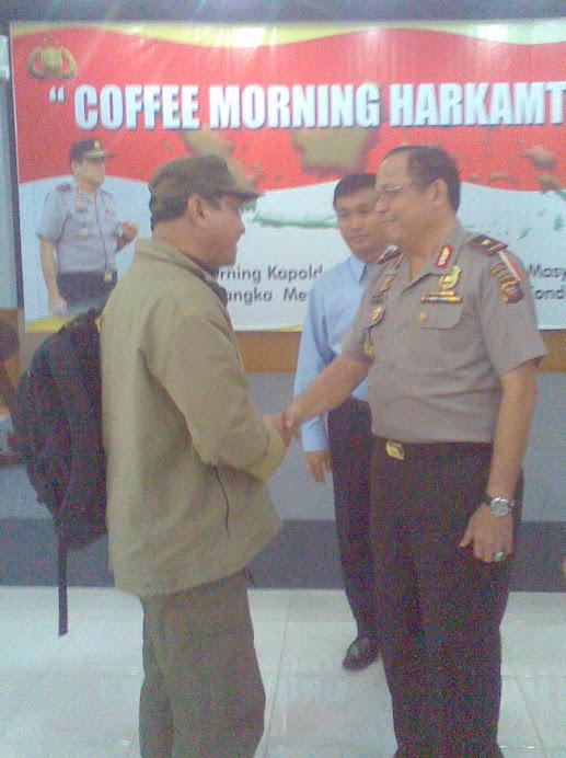 Br Steph bertemu Kapolda Kalbar