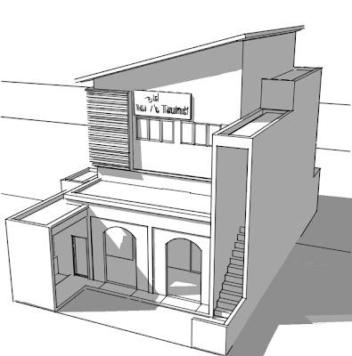 nah klo yang ini, desain mushola di daerah Citarik (yang demen Arung