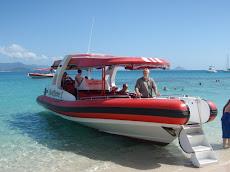 Snorkel transport