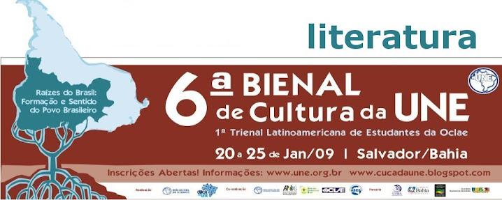 Mostra de Literatura - VI Bienal de Cultura da UNE