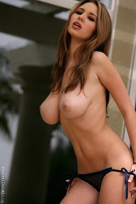 Shay Laren - Tight Top & Blue Panties