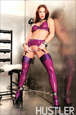 Victoria Redd - Chained In Latex