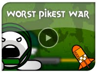 "Animación ""Worst Pikest War"""
