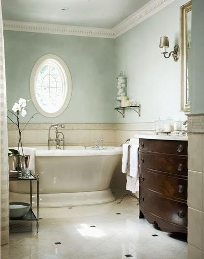 Serene Seneca Light And Calming Bathrooms
