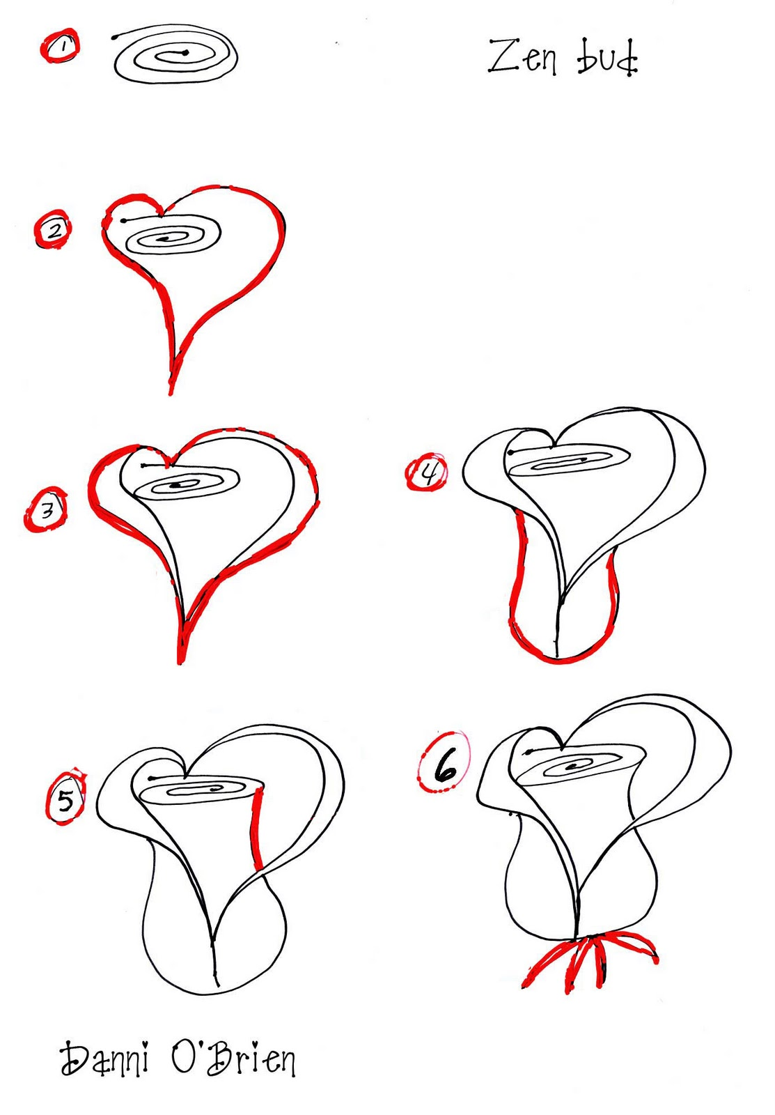 valentine heart rose