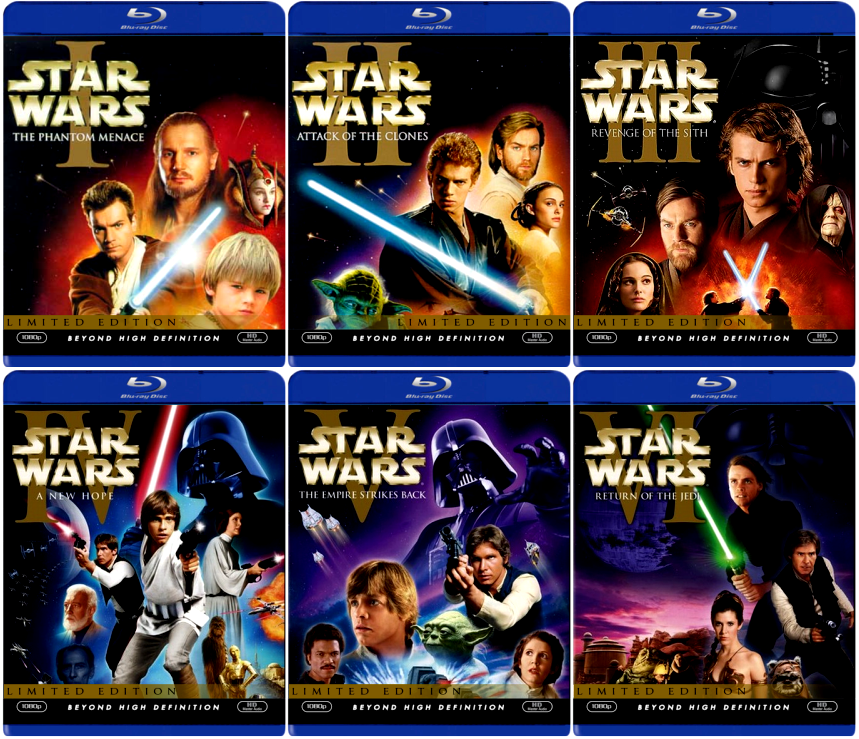 Star Wars: The Complete Saga (Episodes I-VI) [Blu-ray] $89.99